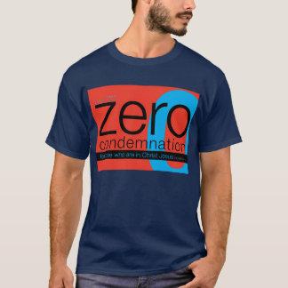 T-shirt Tee - shirt zéro de chrétien de condamnation