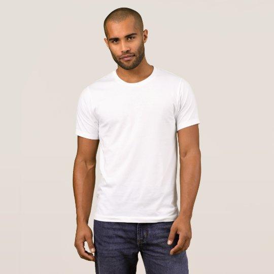 T-shirt basique ras-de-cou pour homme d'Alternative Apparel, Blanc