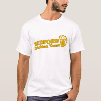 T-shirt Tee - shirts potables d'équipe de Bedford