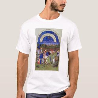 T-shirt Télécopie de mai : Figures courtoises à cheval