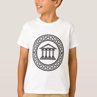 T-shirt Temple grec