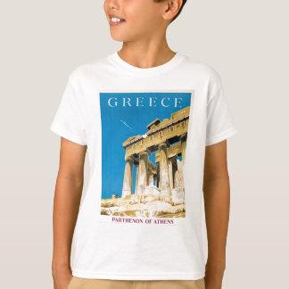 T-shirt Temple vintage de parthenon d'Athènes Grèce de
