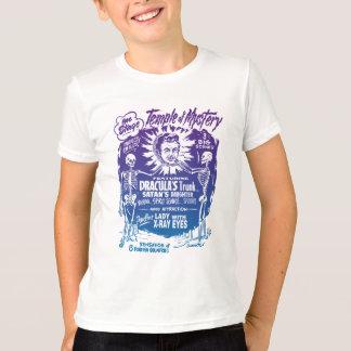 T-shirt Temple vintage d'exposition de spectre de