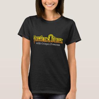 T-shirt temporaire de logo de maîtrise de voix -