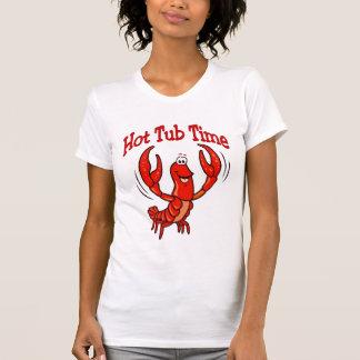 T-shirt Temps de baquet chaud d'écrevisses