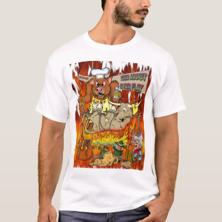 T-shirt Temps de BBQ