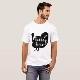 T-shirt temps de dinde