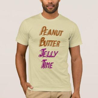 T-shirt Temps de gelée de beurre d'arachide