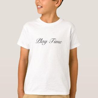 T-shirt Temps de jeu - l'été badine la T-merde courte