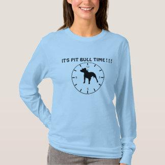 T-shirt Temps de Pitbull