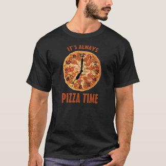 T-shirt Temps de pizza