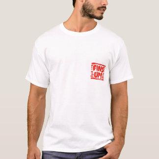 T-shirt Temps de porte à rabattement arrière