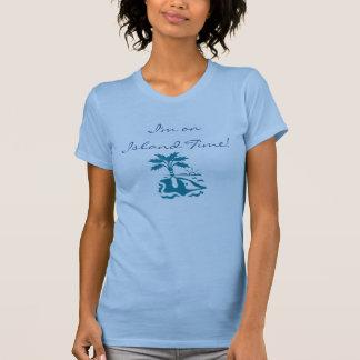 T-shirt Temps d'île