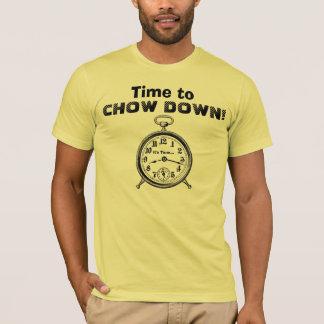 T-shirt Temps drôle à l'horloge vintage V25 de BOUFFE VERS