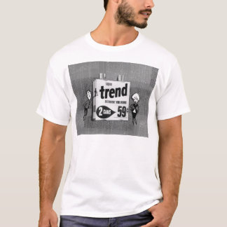 T-shirt Tendance liquide