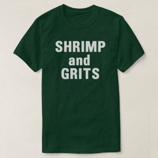 T-shirt tendant drôle de crevette et de slogan de