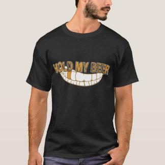 T-shirt Tenez ma grimace de bière