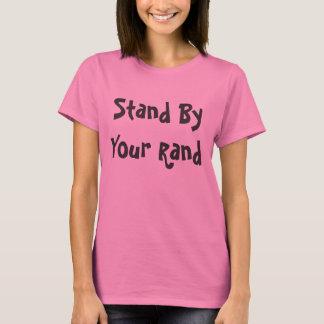 T-shirt Tenez-vous prêt votre couche-point