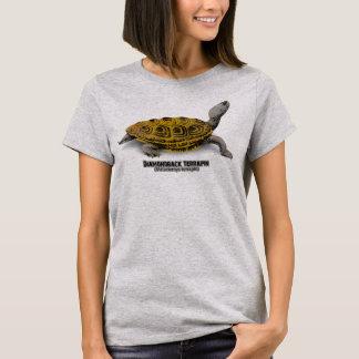 T-shirt Terrapin de dos en forme de losange (terrapin de