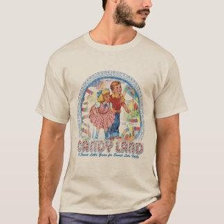 T-shirt Terre de sucrerie - un petit jeu doux