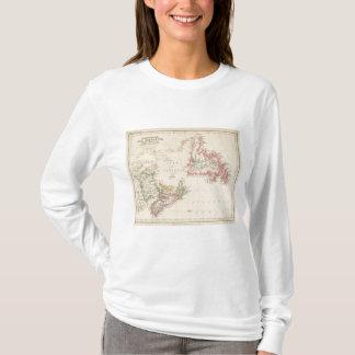T-shirt Terre-Neuve, Nouveau Brunswick, la Nouvelle-Écosse