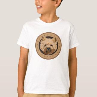 T-shirt Terrier de cairn de chien