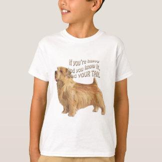 T-shirt terrier de Norfolk