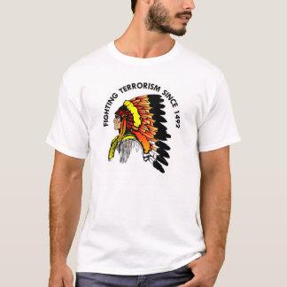 T-shirt Terrorisme de combat de chef indien