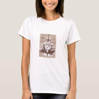 T-shirt Teshirt de libellule et de Lotus