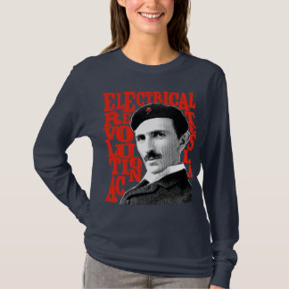 T-shirt Tesla Nikola