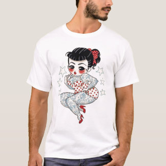T-shirt tessie tatoué