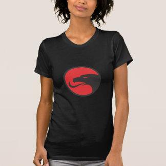 T-shirt Tête albanaise d'aigle