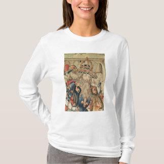 T-shirt Tête de Charlemagne, atelier de Tournai