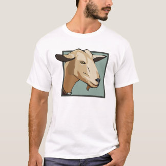 T-shirt Tête de chèvre