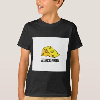 T-shirt Tête de fromage du Wisconsin