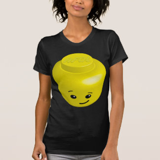 T-shirt Tête de minifig d'AFOL