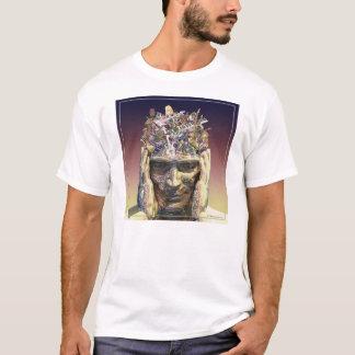 T-shirt Tête de musique