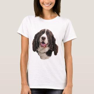 T-shirt Tête de springer spaniel