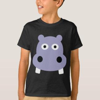 T-shirt tête d'hippopotame