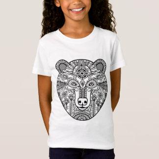 T-Shirt Tête d'ours de style