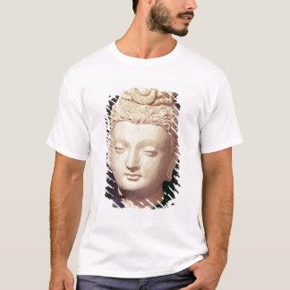 T-shirt Tête d'un Bouddha, style Greco-Bouddhiste