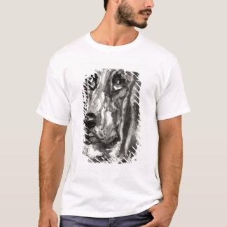 T-shirt Tête d'un fonctionnement de chien, 1880