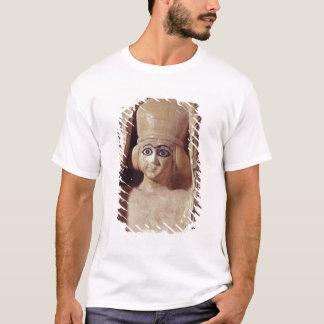 T-shirt Tête d'une statue d'Ishtar, a de port