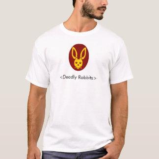 T-shirt Tête mortelle de lapin, <Deadly Rabbits>