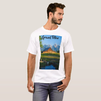 T-shirt Teton grand