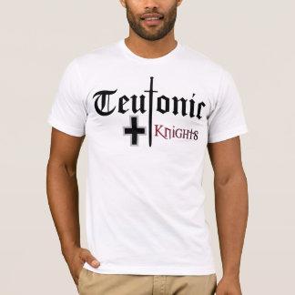 T-shirt Teutonic de chevaliers