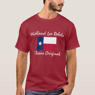 T-shirt Texas-drapeau, rebelles intérieurs de Lee, un