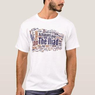 T-shirt Texte de l'iliade par Homer