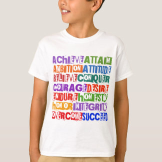 T-shirt Texte de motivation