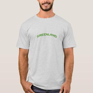 T-shirt Texte de voûte du Groenland